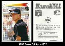 1990 Panini Stickers #202