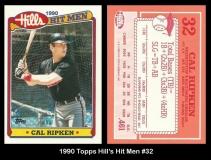 1990 Topps Hill's Hit Men #32