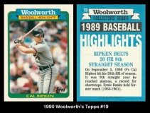 1990 Woolworths Topps #19