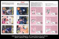 1990-Baseball-Card-Magazine-69-Topps-Replicas-Panels-55-60