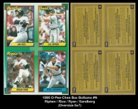 1990 O-Pee-Chee Box Bottoms #N