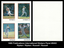 1990 Publications International Stickers Panel #NNO