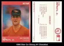 1990 Star Co Glossy #1 Checklist