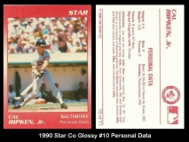 1990 Star Co Glossy #10 Personal Data