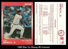 1990 Star Co Glossy #5 Ironman