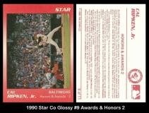 1990 Star Co Glossy #9 Awards & Honors 2