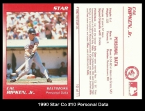 1990 Star Co #10 Personal Data