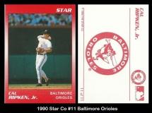 1990 Star Co #11 Baltimore Orioles