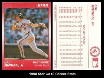 1990 Star Co #2 Career Stats