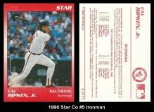 1990 Star Co #5 Ironman