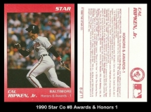 1990 Star Co #8 Awards & Honors 1