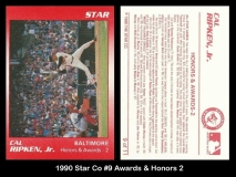 1990 Star Co #9 Awards & Honors 2