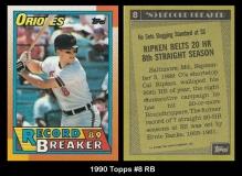 1990 Topps #8 RB