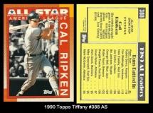 1990 Topps Tiffany #388 AS