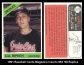 1991 Baseball Cards Magazine Inserts #52 66 Replica