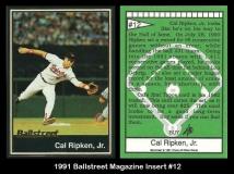 1991 Ballstreet Magazine Insert #12