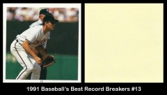 1991 Baseballs Best Record Breakers #13