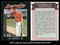 1991-Legends-Sports-Memorabilia-Silver-50