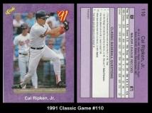 1991 Classic Game #110