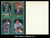 1991 Classic III #NNO 4-in-1