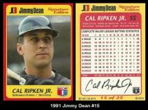 1991 Jimmy Dean #15