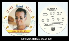 1991 MSA Holsum Discs #20