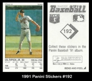 1991 Panini Stickers #192