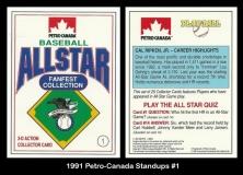 1991 Petro-Canada Standups #1
