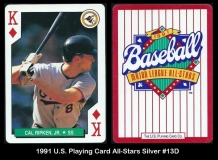 1991 US Playing Card All-Stars Silver #13D
