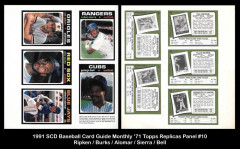 1991-SCD-Baseball-Card-Guide-Monthly-71-Topps-Replicas-Panel-10