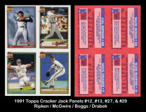 1991-Topps-Cracker-Jack-Panels-12-13-27-29