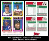 1991-Topps-Magazine-75-Topps-Replicas-Panel-1