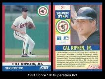 1991 Score 100 Superstars #21