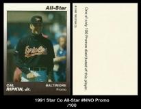 1991 Star Co All-Star #NNO Promo