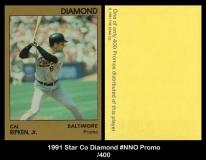 1991 Star Co Diamond #NNO Promo