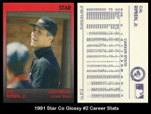 1991 Star Co Glossy #2 Career Stats