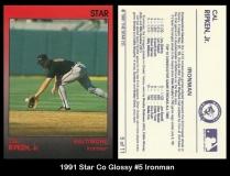 1991 Star Co Glossy #5 Ironman