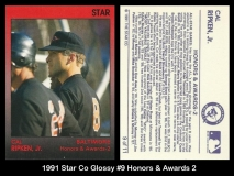1991 Star Co Glossy #9 Honors & Awards 2