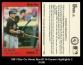 1991 Star Co Home Run #114 Career Highlights 2