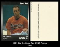1991 Star Co Home Run #NNO Promo