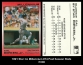 1991 Star Co Millennium #74 Post Season Stats