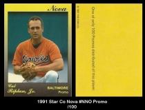 1991 Star Co Nova #NNO Promo