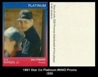 1991 Star Co Platinum #NNO Promo