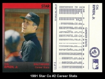 1991 Star Co #2 Career Stats