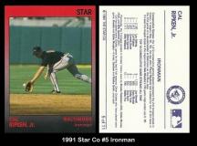 1991 Star Co #5 Ironman