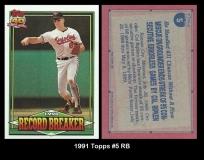 1991 Topps #5 RB