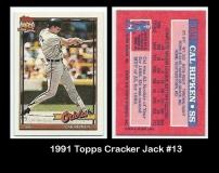 1991 Topps Cracker Jack #13