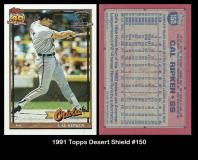 1991 Topps Desert Shield #150