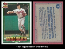 1991 Topps Desert Shield #5 RB