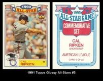 1991 Topps Glossy All-Stars #5